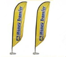 Factory Price Custom Waterdrop Flag Polyester Wind Flag Banner