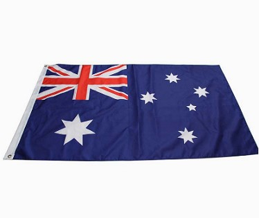 Factory Printed polyester National Flag Of Australia