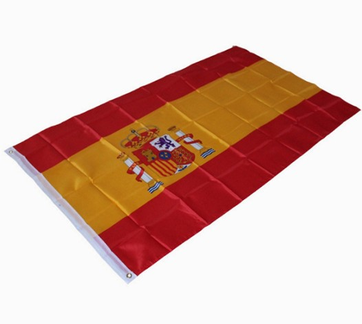 Hanging Country Flag National Flag Of Spain Flag