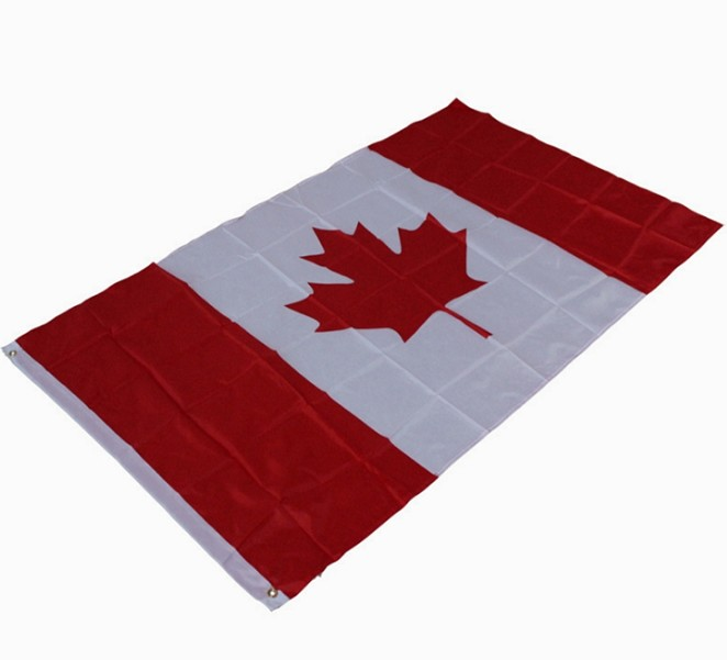Cheap Promotional Printed National Flag Of Canada