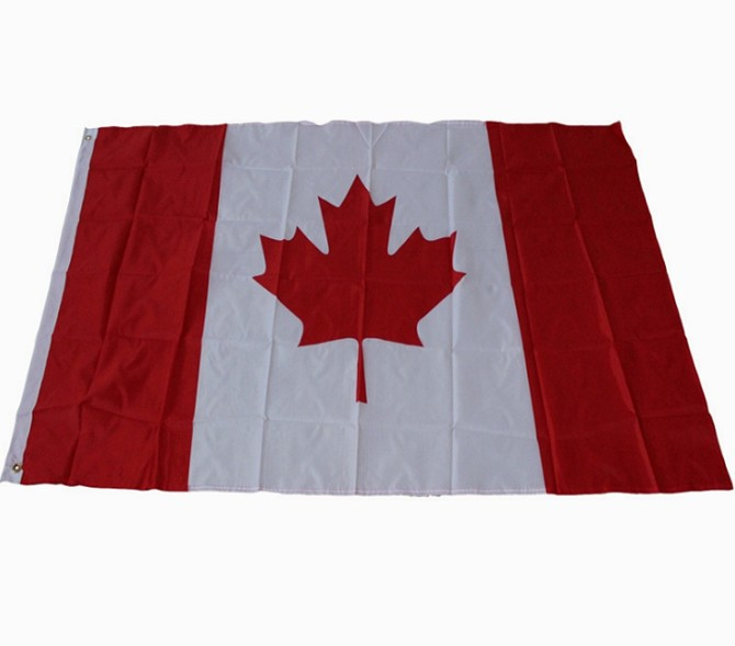 Standard Size Canada Flag World Country Flag Manufacturer