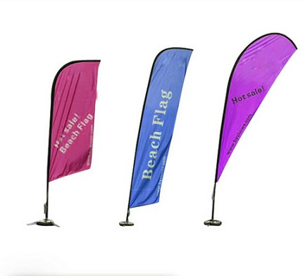Personalized Custom Sail Flag Polyester Wind Flag Banner