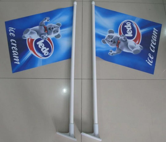 Wall Advertising Flag Promotional Outdoor Advertising Flags